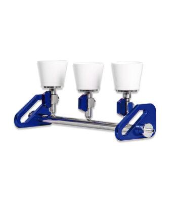 Sistema de Filtración por Membrana Manifold de 3 puestos TE-0591/1