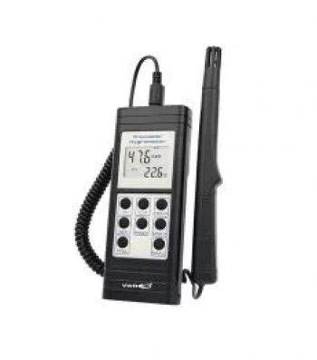 Temohigrómetro Digital Trazable con Software
