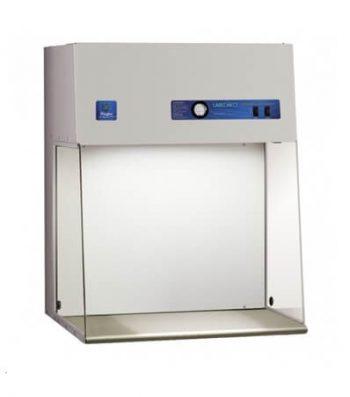 Cabina de Flujo Laminar Clean Bench Purifier Horizontal de 3' con Luz UV