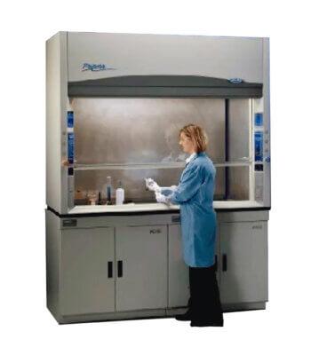 Campana Extractora de Gases para Laboratorio - Protector para Ácido Perclórico de 6' pies