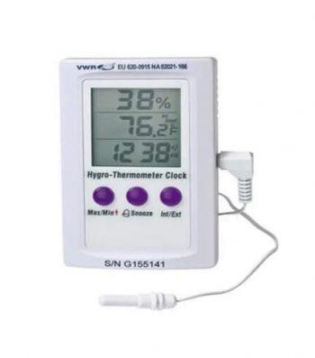 Termohigrómetro Digital Electrónico Dual Zone 20A 99%