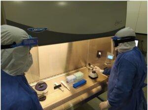 Cabina de Bioseguridad Labconco para pruebas PCR