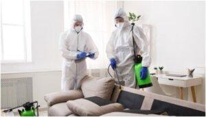 desinfección de espacios
