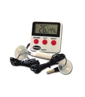 Termómetro Digital de -50 a 70 °C, Higrómetro de 10 a 95%