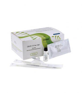 Kit de Prueba de Antígeno para Covid-19 por Inmunoensayo de Fluorescencia Seca