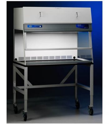 Cabina de Flujo Laminar Vertical con Soporte y Luz UV