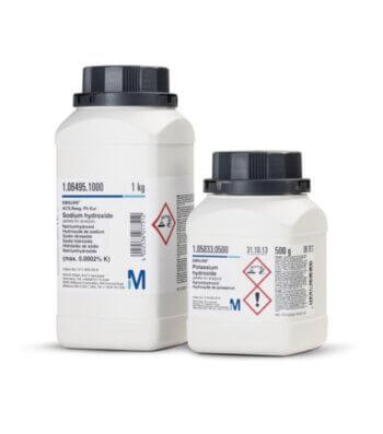 Sodio Hidroxido en Lentejas