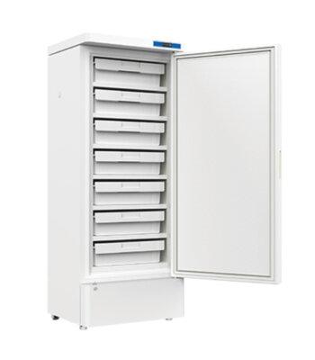 Congelador-vertical-para-laboratorio--10°C-~--25°C-con-capacidad-de-270-Litros