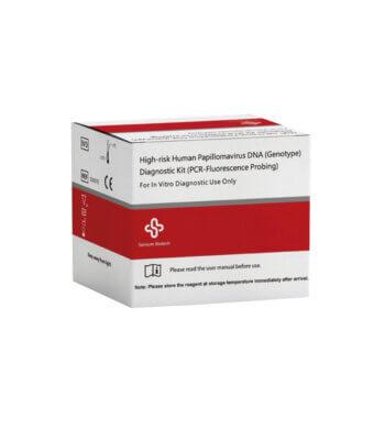 Kit de diagnóstico de ADN de 15 genotipos de alto riesgo del virus del papiloma humano